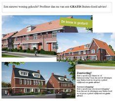Een nieuwe woning gekocht? Profiteer dan nu van een GRATIS Buiten-Goed advies!!
