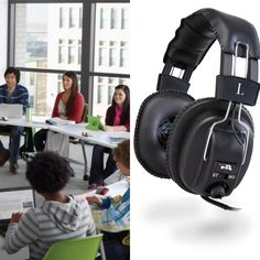 4f401b93b5b CYBER ACOUSTICS ACM-500 #STEREO #HEADPHONES: #affordable #headphone  solution for