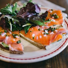 La Boulange Bakery - their open sandwiches are definitely worth trying.