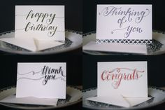 The Latest Batch: Handmade Greeting Cards | Sincerely, Serendipity