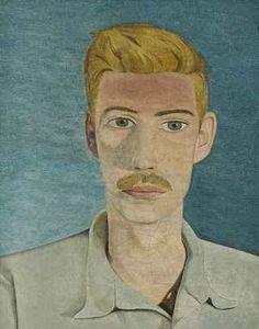 Portrait of a Man, 1954  Oil on canvas  Lucien Freud