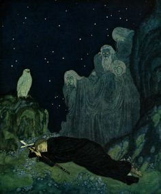Edmund Dulac, The dreamer of dreams (1915)