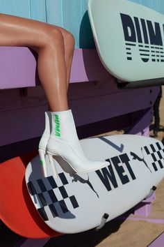 Rihanna Fenty PUMA Spring Summer 2018 Collection ss18 drop footwear sneakers booties Espadrilles leather pointed toe racing avid cutout