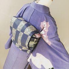 #kimono #obi #着物 #着物コーディネート #辻が花