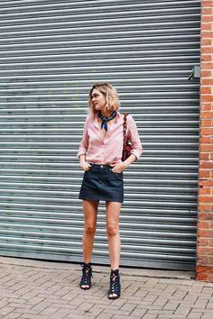Summer Style: Stripes and Denim (Le Fashion) - http://www.popularaz.com/summer-style-stripes-and-denim-le-fashion/