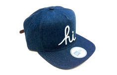 In4mation Denim and Leather New Era Snapback