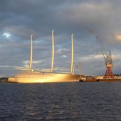 World's largest sailing yacht has been delivered