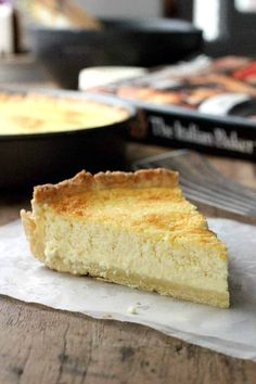 The best Italian Lemon Ricotta Pie, with an easy to make sweet pastry dough and a filling full of flavor. A great recipe for Easter, Spring brunch and Mother's Day table. Ricotta Pie, Ricotta Cheesecake, Desserts With Ricotta Cheese, Pumpkin Cheesecake, Italian Desserts, Fun Desserts, Italian Recipes, Savoury Baking, Savoury Dishes