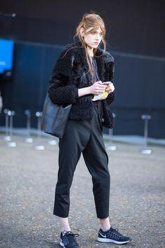 Street style from London fashion week autumn/winter '16/'17