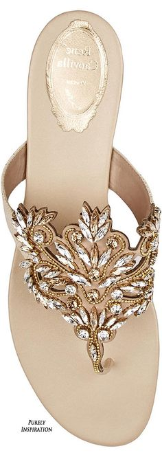 René Caovilla   Swarovski crystal-embellished leather and snake sandals   Purely Inspiration http://www.net-a-porter.com/product/566438/Rene_Caovilla/swarovski-crystal-embellished-leather-and-snake-sandals
