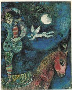 "More Marc Chagall, ""Circus Rider,"" 1927"