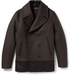 GucciPanelled Quilted Wool Peacoat