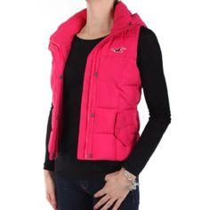 Selling this Pink Vest! in my Poshmark closet! My username is: justshipthea. #shopmycloset #poshmark #fashion #shopping #style #forsale #Hollister #Jackets & Blazers