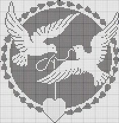 Wedding Cross Stitch Patterns, Modern Cross Stitch Patterns, Cross Stitch Designs, Cross Stitching, Cross Stitch Embroidery, Embroidery Patterns, Crochet Patterns, Hand Embroidery, Filet Crochet Charts
