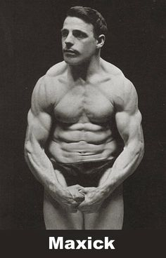 A bodybuilder prides himself