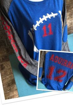 Custom Football Mom Shirt with   on front c08487761