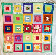 Hungry Caterpillar No. 1 quilt front