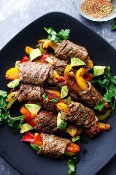 Steak Fajita Roll-Ups by diethood