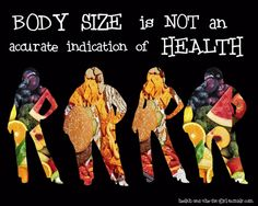 Yet, we choose to judge others by their physical size. #bodyimage