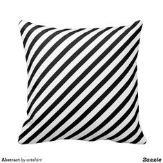 Abstract Throw Pillow | #zionmade