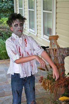 Zombie costumes ideas for kids google search pinteres kids zombie costumes diy google search solutioingenieria Choice Image