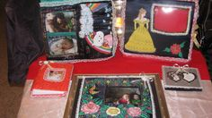 Hand Painted and Decorated Photo Albums, Scrapbooks & Picture Frames= from $30.00 to 120.00