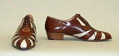 Oxfords Susan Bennis/Warren Edwards (American, 1977–1997) Date: 1982 Culture: American Medium: leather