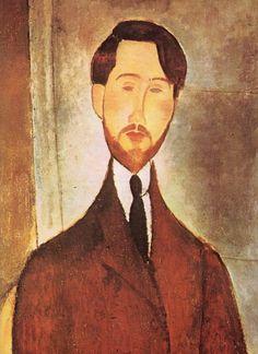 Modigliani: Retrato de Leopold Zborowski. Museo de Sao Paulo.