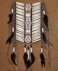 Imitation Native American Breast Plate BRP01 by Jumanoscraft