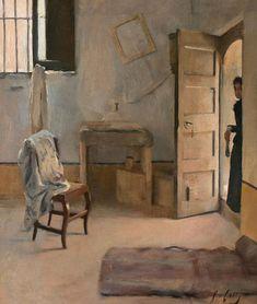 Ramon Casas i Carbó - Una casa desordenada, c.1890