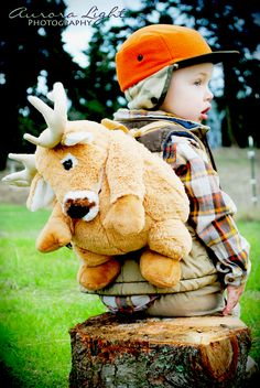 Fun Hunting Themed Photos, Little Boys, Camping, NW Portraits