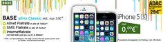 BASE All-in ab monatlich 29 EUR mit Apple iPhone 5s ohne Zuzahlung http://www.simdealz.de/e-plus/base-all-in-ab-monatlich-29-eur-mit-apple-iphone-5s-ohne-zuzahlung/