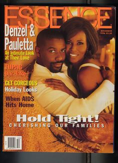 ESSENCE Celebrity Couples Covers Over the Years. Denzel and Pauletta Washington In December Oscar-award winning actor Denzel Washington and his lovely wife Pauletta appeared on the cover of ESSENCE and shared the secrets to their powerhouse love. Black Celebrity Couples, Black Love Couples, Celebrity Dads, Jet Magazine, Black Magazine, Actor Denzel Washington, John Johnson, Essence Magazine, Celebrity Magazines