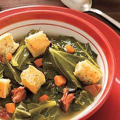Pot Likker Soup Recipe | MyRecipes.com