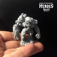"""any body interested in painting this """"little"""" guy?     #dungeonsanddragons #rpg #d20 #roleplay #nerd #geek #dice #dnd5e #roleplayinggame #tabletopgames #dungeonmaster #gaming #tabletopgaming #fantasy #wargames #gamesworkshop #warhammer #warhammer40k #miniature #coolminis #minipainting #miniatures #dnd #patreon #art #supportlivingartists #dnd #minianturednd # dndminis #3dprint #zbrush Tabletop Rpg, Tabletop Games, Dungeons And Dragons Characters, Because I Love You, D 20, Mini S, Mini Paintings, Nerd Geek, Zbrush"""