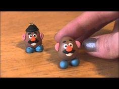 SoCraftastic <3 Mr. Potato Head Polymer Clay Charm Tutorial