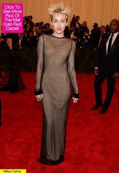 Miley Cyrus Met Gala Dress