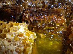 """Capaceala este capacul de la fagure, cu care albinele """"sigileaza"""" mierea depusa in fiecare celula a stupului pentru a-i conserva calitatile terapeutice."""