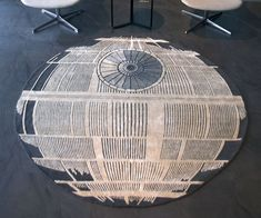 Let the Empire help you tie the room together with the iconic Death Star rug. Modeled after their prized weapon/space station, this 6' x 6' rug is handmade with a level of detail fitting for a true Star Wars fan's home decorum.