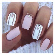 White Accent Nails for Elegant Nail Designs for Sh. White Accent Nails for Elegant Nail Designs for Short Nails – Elegant Nail Designs, Short Nail Designs, Elegant Nails, Acrylic Nail Designs, Nail Art Designs, Nails Design, Pretty Designs, Accent Nail Designs, White Nail Designs