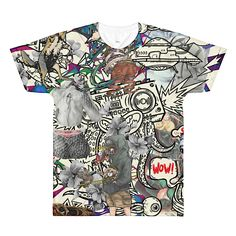Colorful Art Shirt XLI