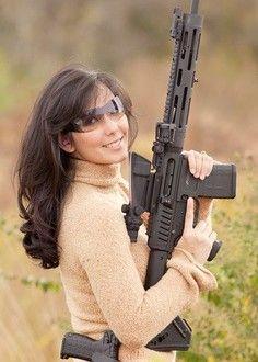 Strong Women wiht Guns Gallery at 248Shooter.com  Women-with-Guns-03