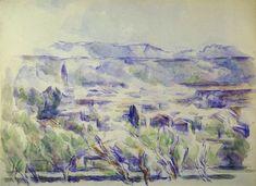 Paul Cézanne - View toward Aix from Les Lauves
