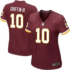 Youth Washington Redskins 10 Robert Griffin III Light Out Black Jersey