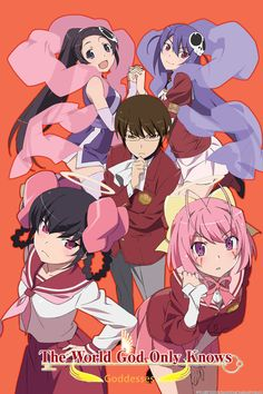 """Keima, a high school student, is an avid player of romantic simulation games.  He is known on the Internet as the """"Divine Capturer"""" for his legendary skills to """"capture"""" any 2D girl in games. In his real school life, Keima is considered nothing but a gloomy geek with thick glasses."""