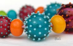 Handmade+Lampwork+Glass+Beads++#Lampwork