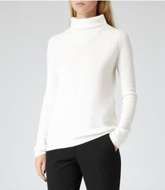Pin for Later: 17 Favourite Autumn Knits Because It's Finally Jumper Weather Reiss Liberty Wool Jumper Reiss Liberty Lightweight Wool Jumper (£95)