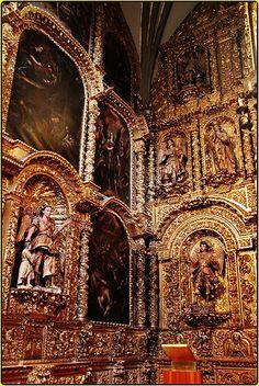 Capilla de los Santos Ángeles,Catedral Metropolitana de la Ciudad de México