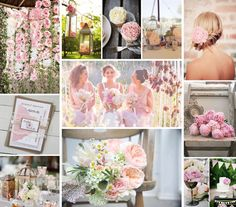 peachy pink wedding | Peony Wedding Inspiration | Peach, pink and puder wedding