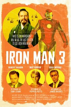 alternate universe movies | Des affiches vintage pour les films modernes, c'est quand même plus ...